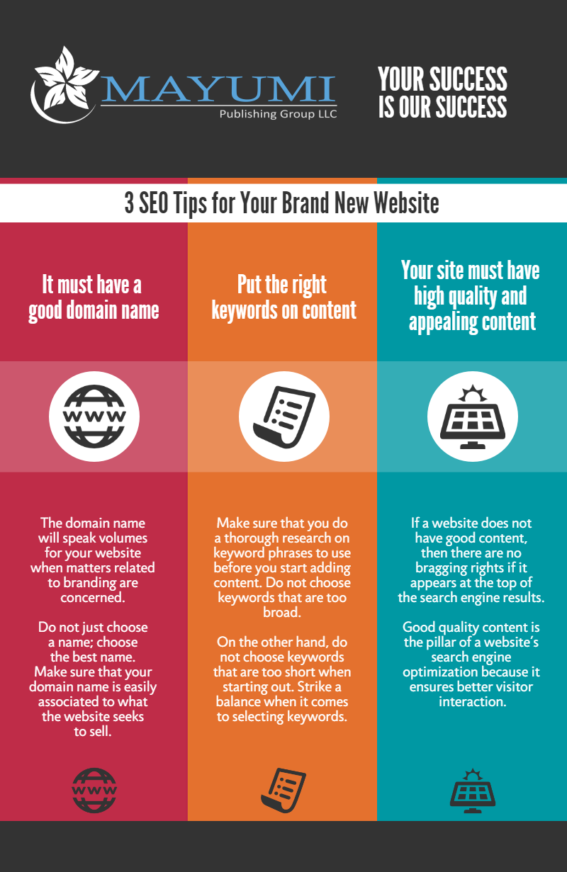 3 SEO Tips for Your Brand New Website